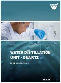 Water distillation unit   quartz