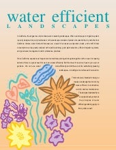 Water Efficient Landscapes - Califo...
