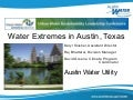 Water extremes in austin texas