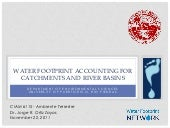 WATER FOOTPRINT ACCOUNTING FOR CATC...