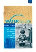 Water for Life - From Knowledge to Action