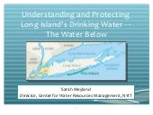 Water Matters , Episode II  1-29-2016 Prof Sarah Meyland on Managing Long Island's Aquifers and Our Drinking Water