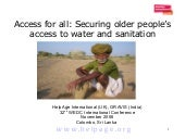 Access for all: Securing older peop...