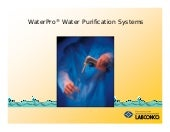 WaterPro Water Purification Systems...