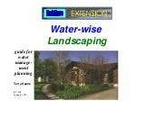 Water-Wise Landscaping guide for wa...