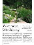 Waterwise Gardening: An Efficient Garden Design Can Reduce Water Co...