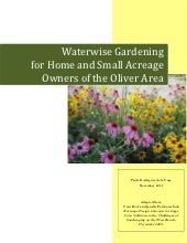 Waterwise Gardening for Home and Sm...