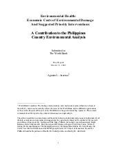 Environmental Health:Economic Costs...