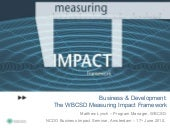 WBCSD presentation on business pers...