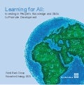 [Brochure] World Bank Education Strategy 2020: Learning for All -- Investing in People's Knowledge and Skills to Promote Development