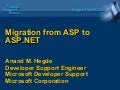 Migration from ASP to ASP.NET