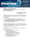 Automotive Steering 2013 Conference - Press Release