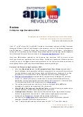 Review Enterprise App Revolution 2013
