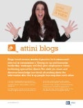 Brochure Attini Blogs