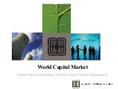 World Capital Market (brief overview)