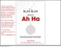 Less Blah Blah - More Ah Ha / Women's Council of RELATORS 1960 Chapter Luncheon / HAR / 2/15/12