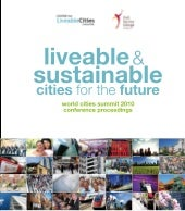 Liveable & Sustainable Cities For The Future