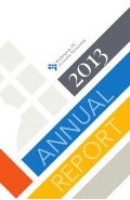 WDCEP's 2013 Annual Report