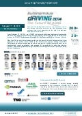 Autonomous Driving 2014 The Future of ADAS Post Event Report