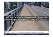 We need a Senior Improvement Manager, Horizons Group, NHS IQ