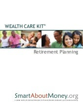 Wealth Care Kit: Retirement Planning