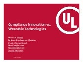 Wearable Technologies vs. Compliance Innovation_Maxi Tsai