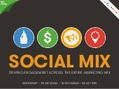 We Are Social Presents The Social Marketing Mix