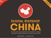 Digital, Social & Mobile in China in 2015