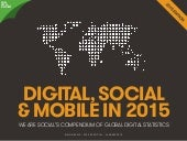 Digital, Social and Mobile in 2015