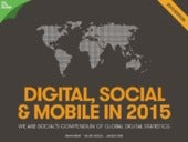 «Digital, Social and Mobile 2015» We Are Social Singapore