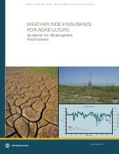 Weather index insurance for agricul...