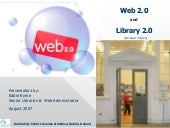Web 2.0 / Library 2.0 Abridged version