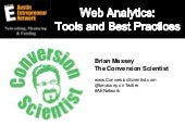 Web Analytics: Tools and Best Practices
