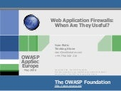 Web Application Frewall