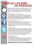 Utilizing Web 2.0 and the Cloud in RA Training
