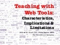 Teaching with Web Apps
