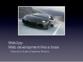 web2py:Web development like a boss