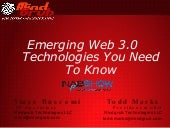 Emerging Web 3.0 Technologies You Need To Know