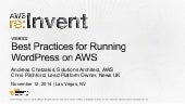 (WEB302) Best Practices for Running WordPress on AWS | AWS re:Invent 2014