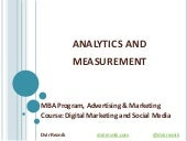 Web Analytics and Google AdWords 101
