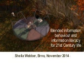 Blended information behaviour and information literacy for 21st Century life