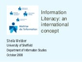 Information Literacy: an internatio...