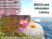 MOOCs and Information Literacy