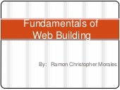 Fundamentals of Web building