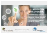 La nutrition à l'ère du digital : c...