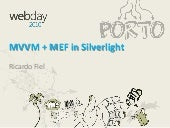 MVVM+MEF in Silvelight - W 2010ebday