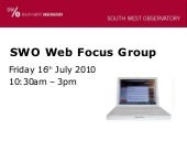 Web focus group