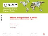 Web foundation   mobile entrepreneu...