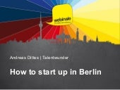 How to start up in Berlin