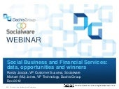 Webinar: Social Business and Financ...